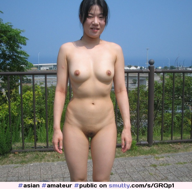 woman outdoor shaved Asian