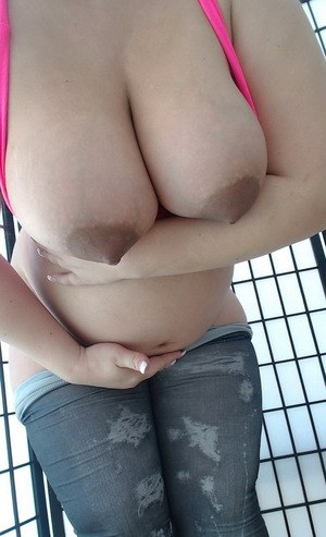 POV wanking bathroom chubby