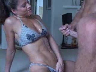 skinny fetish Double blowjob messy