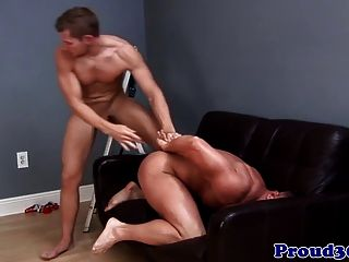 sissy foursome Drunk muscle