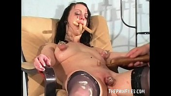 Sissy mother double blowjob fucking